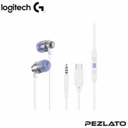 Logitech G333 White Gaming Earphone
