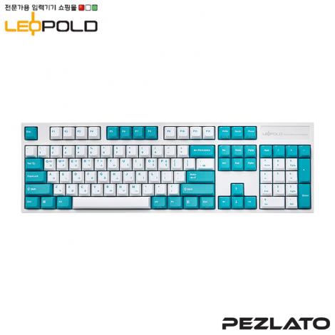 Leopold FC900R WhiteMint PD/Blue SW