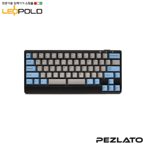 Leopold FC650M DoubleSpace GreyBlue PD / Red SW