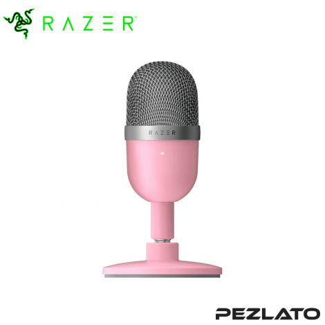 Razer Seiren Mini Ultra-Compact Condenser Microphone Quartz