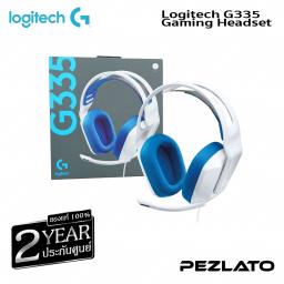 Logitech G335 Gaming Headset (White)