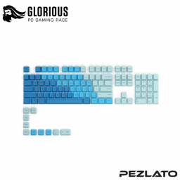 Glorious GPBT Keycaps 114 Key (OCEAN)