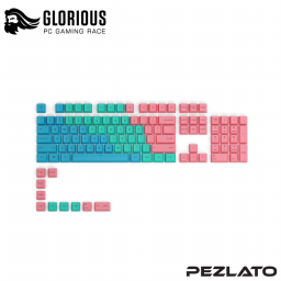 Glorious GPBT Keycaps 114 Key (PASTEL)