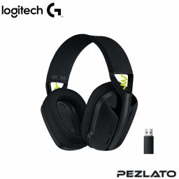 Logitech G435 LIGHTSPEED Wireless Gaming Headset (BLACK AND NEON YELLOW)