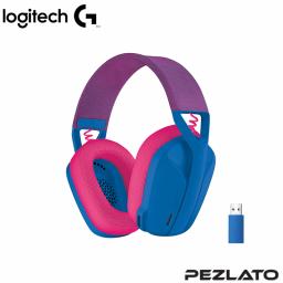 Logitech G435 LIGHTSPEED Wireless Gaming Headset (BLUE AND RASPBERRY)