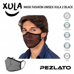 MASK FASHION UNISEX XULA 2 BLACK (Size L)